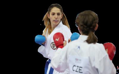 Lejla Topalovic   Karate