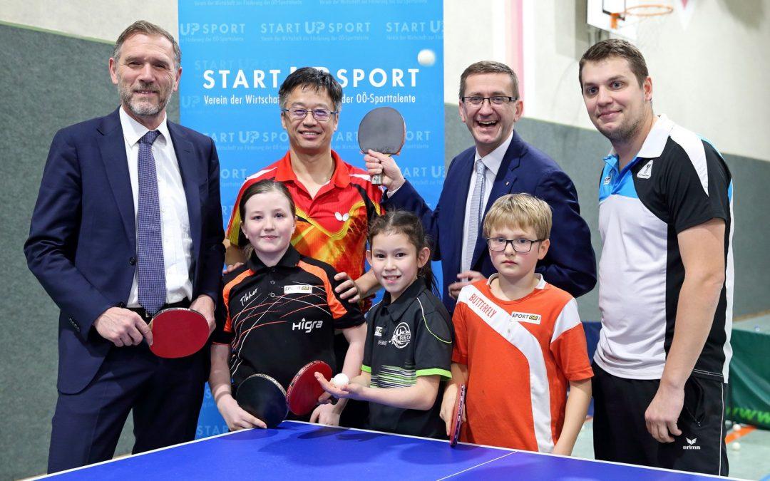 Tischtennis-Talente profitieren von Traineraustausch