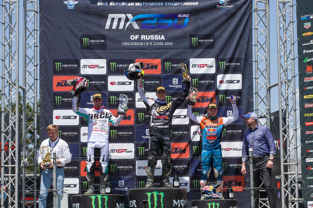 Rene Hofger freute sich über seinen zweiten Rang in Russland.