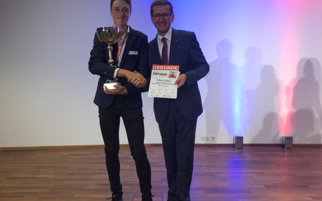 Tobias Leitner gewinnt TopTalent 2019