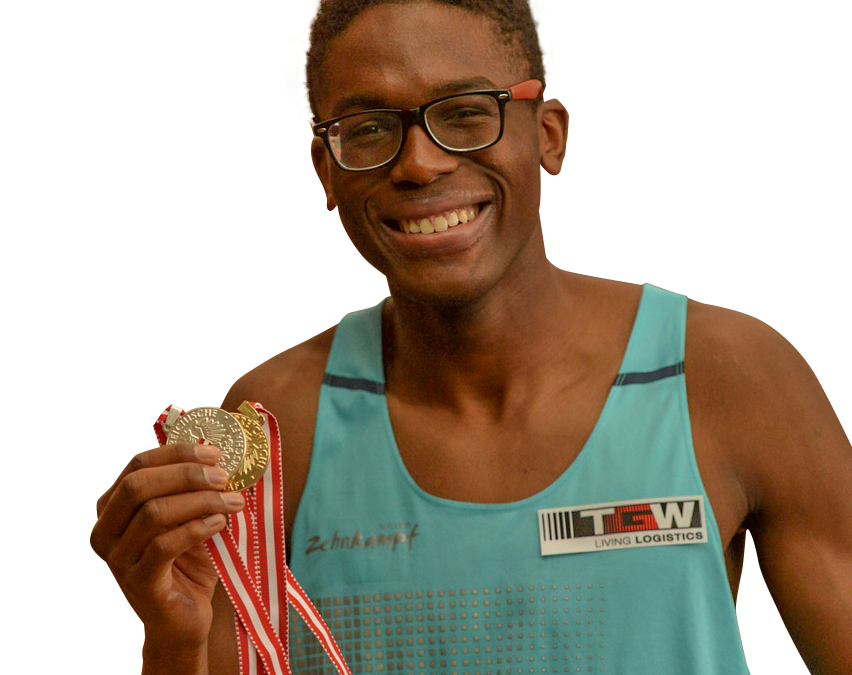 Endiouras Kingley | Leichtathletik Sprung, Mehrkampf, Hürden